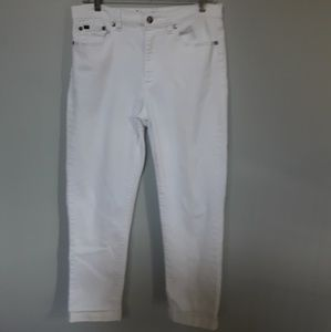 Denim - DIANE GILMAN DG2 STRETCH CAPRI JEAN. 10